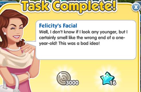 Felicity's Facial - Complete