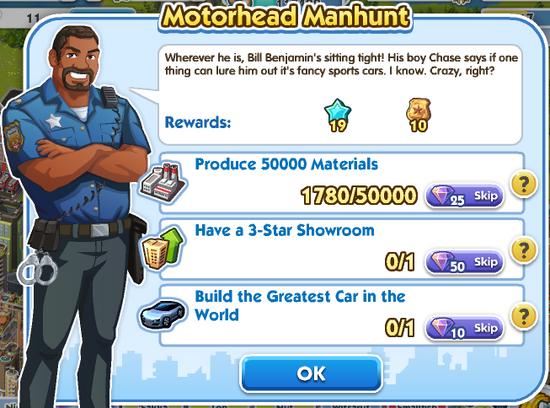 Quest - Motorhead Manhunt