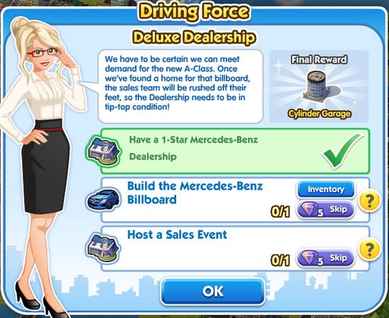 Deluxe Dealership