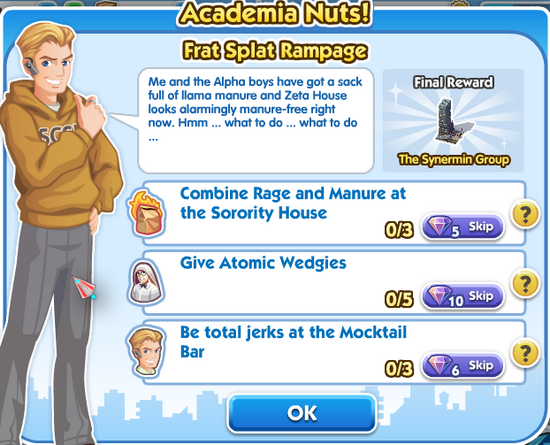 File-Quest - 6academia nuts