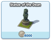 Statue of the Dean