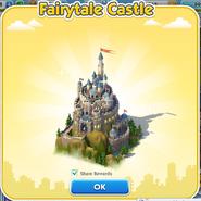 Fairytale Castle Finish
