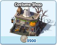 Costume Shop