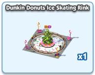 Dunkin Donuts Ice Skating Rink