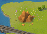 Jutting Granite Rock