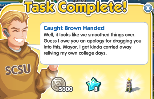 Caught Brown Handed - Complete