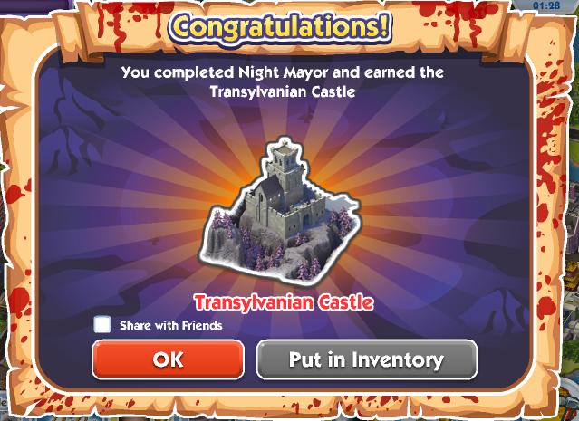 Night Mayor - Reward