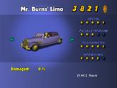 Mr. Burns' Limo - Phone Booth