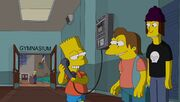 Bart as Mrs Kn