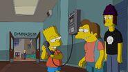 Bart as Mrs Kn