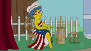 Luann as Betsy Ross