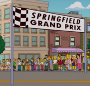 The Simpsons Springfield Grand Prix