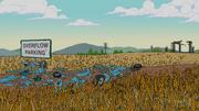 Pontiac GTO destroyed