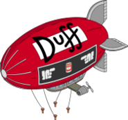 Duff blimp tapped out
