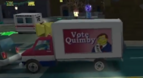 Vote Quimby Truck