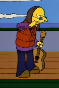 Mr. Burns Hippie