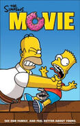 The Simpsons Movie Homer strangling Bart Poster