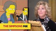 Guest Voice Jane Fonda THE SIMPSONS ANIMATION on FOX
