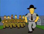 Skinner in army