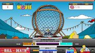 The Simpsons Movie Ball of Death Game