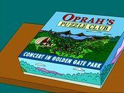Oprah's Puzzle Club - Concert in Golden Gate Park