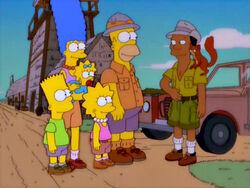 Simpsons and Kitenge