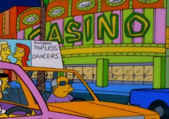 homer simpson casino