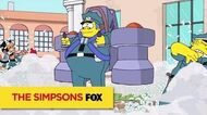 "THE SIMPSONS Who Needs A Training Course? from ""Sky Police"" ANIMATION on FOX"