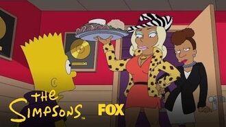 Praline Surprises Bart Season 28 Ep. 12 THE SIMPSONS