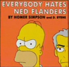 Everybody Hates Ned Flanders single
