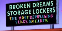 Broken Dreams Storage Lockers