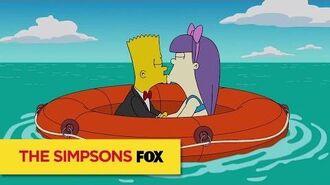 THE SIMPSONS Bart Simpson As Bond ANIMATION on FOX