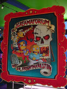 The Simpsons Ride The Screamatorium of Dr. Frightmarestein Poster