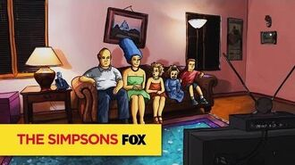 "THE SIMPSONS Couch Gag from ""Barthood"" ANIMATION on FOX"