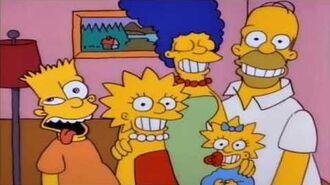 The Simpsons short Family Portrait