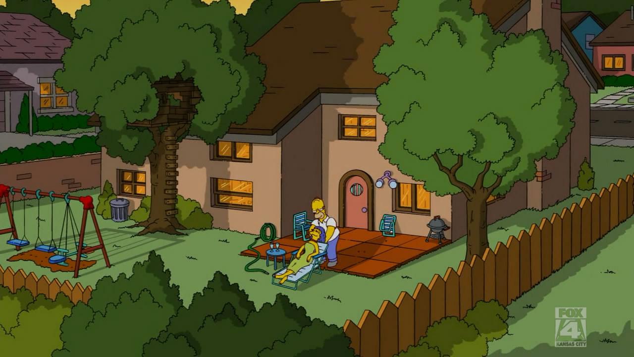 Terra o sempre verde 742 wikisimpsons fandom powered for Evergreen terrace 742