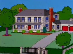 743 evergreen terrace simpsons wiki wikia for 742 evergreen terrace real life