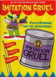 Krusty brand imitation gruel