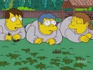 Young Wiggum at Fat Camp