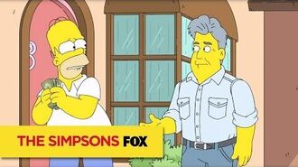 "THE SIMPSONS The Age We Live In from ""To Courier with Love"" ANIMATION on FOX"