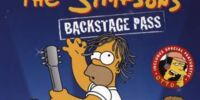 The Simpsons Backstage Pass