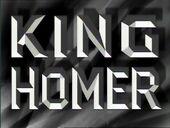 King Homer - THOH
