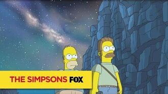 "THE SIMPSONS Blessed from ""Fland Canyon"" ANIMATION on FOX"