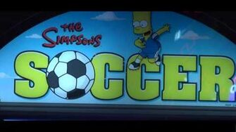 Simpson's Soccer - Arcade Soccer Redemption - IAAPA 2012