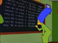 Chalkboard gag Itchy and Scratchy The Movie
