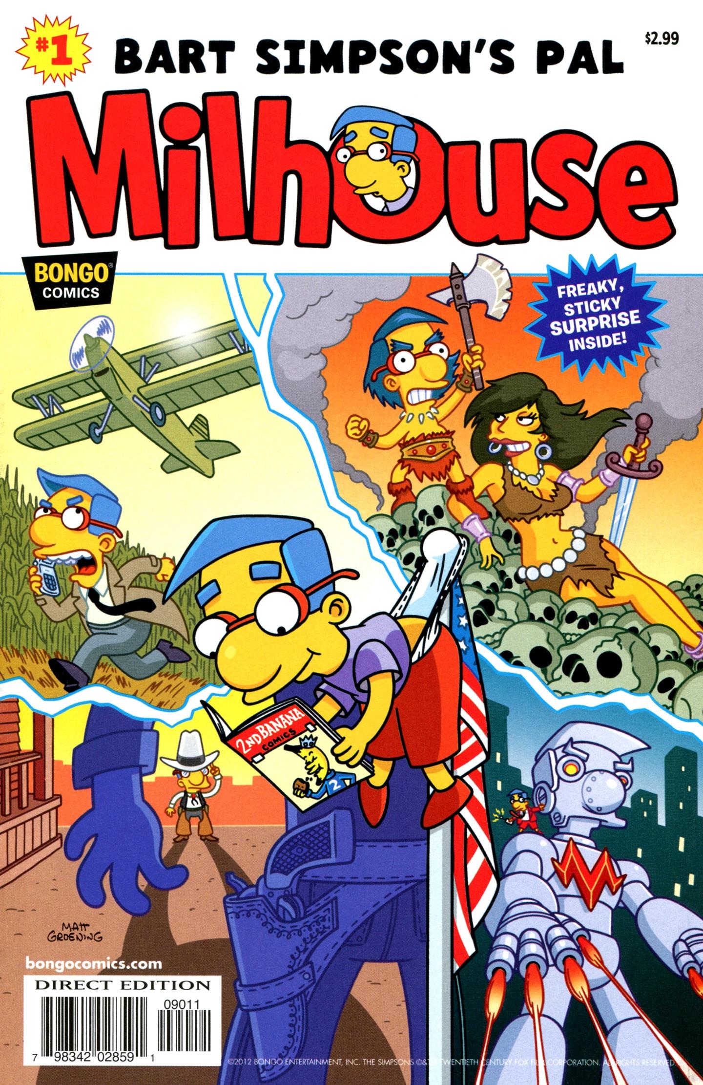 Bart simpson 39 s pal milhouse simpsons wiki fandom powered by wikia - Bart et milhouse ...