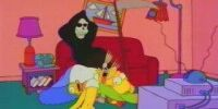 Grim Reaper couch gag