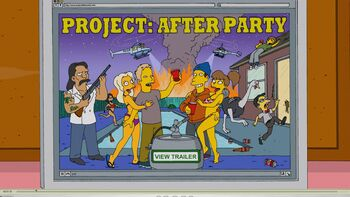 Project After Party trailer ad