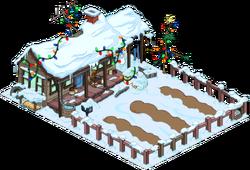 Christmas Cletu's Farm Snow Menu
