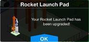 Rocket Launch Pad upgraded screen